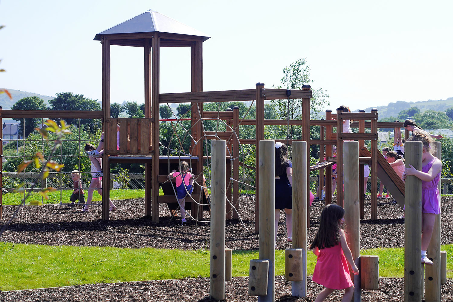 wooden, play, equipment, playground, play equipment, play park
